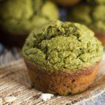 Gluten Free Spinach Chia Muffins