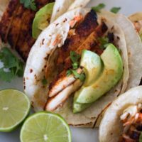 Spiced Chicken Tacos